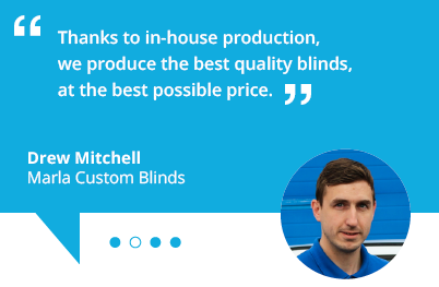 marla custom blinds franchise - quote