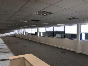 open plan office blinds