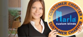 Marla custom blinds - our customer charter