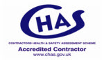 CHAS accredited contractor - Marla