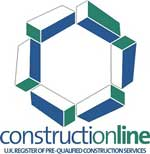ConstructionLine logo - Marla Commercial Blinds