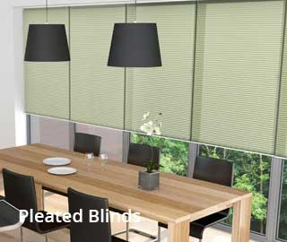 marla pleated blinds