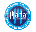 marla custom blinds - customer charter