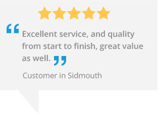 marla custom blinds sidmouth testimonial - sidmouth