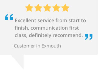 marla custom blinds sidmouth testimonial - exmouth