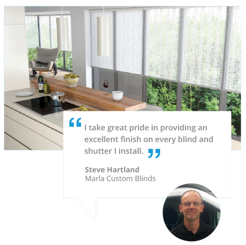 marla custom blinds sidmouth- quote