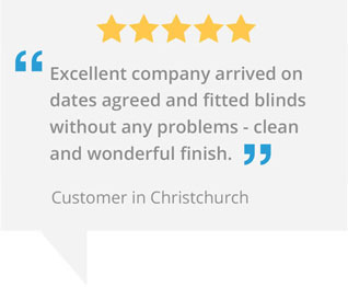 Marla custom blinds christchurch testimonial