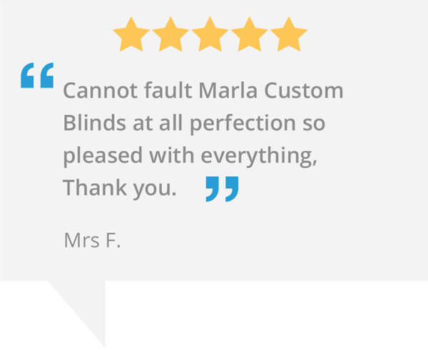 marla blinds northampton testimonial
