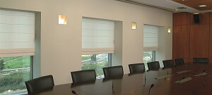 Boardroom office blinds