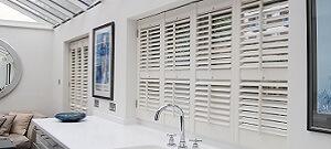 Bathroom shutters
