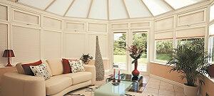natural conservatory blinds