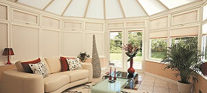 natural conservatory blinds