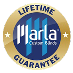 Marla blinds lifetime guarantee